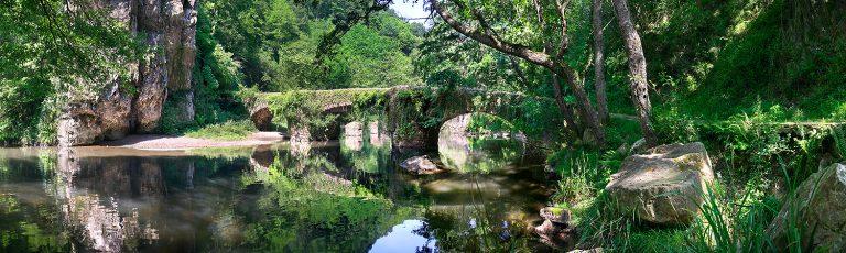 Puente de Unanibia en Valle de Leitzaran Gipuzkoa