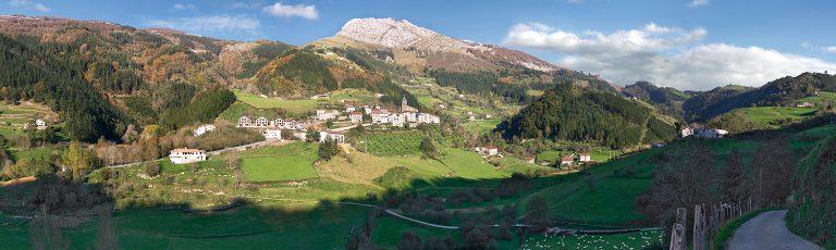Valle de Errezil y Monte Ernio Gipuzkoa