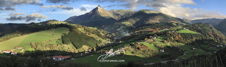 Monte Txindoki en Goierri Gipuzkoa