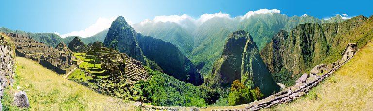 Ciudad Inca de Machupicchu en Peru