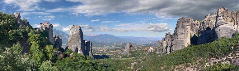 Monasterios en las Rocas de Meteora en Grecia
