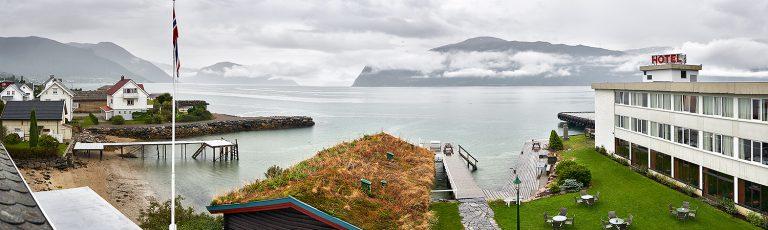 Hotel en los Fiordos de Noruega