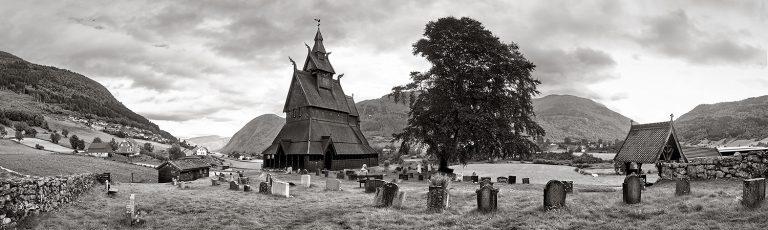Iglesia de Hopperstad en Noruega