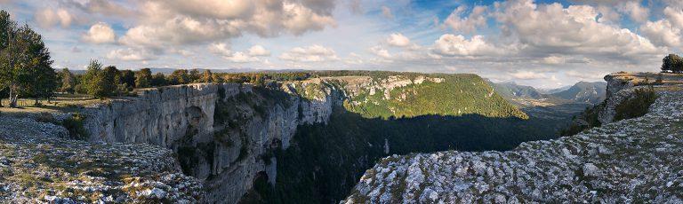 Balcon de Pilatos en la Sierra de Urbasa