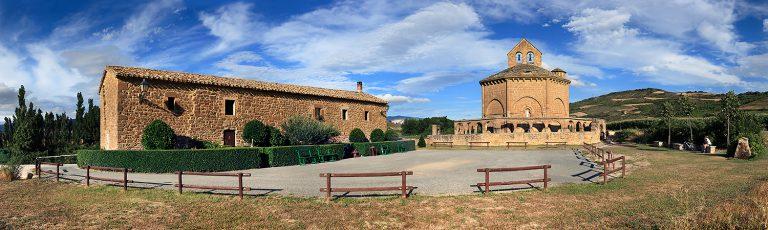 Ermita Eunate en Navarra
