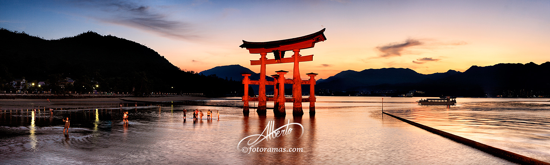 Gran Torii de Miyajima, Japon